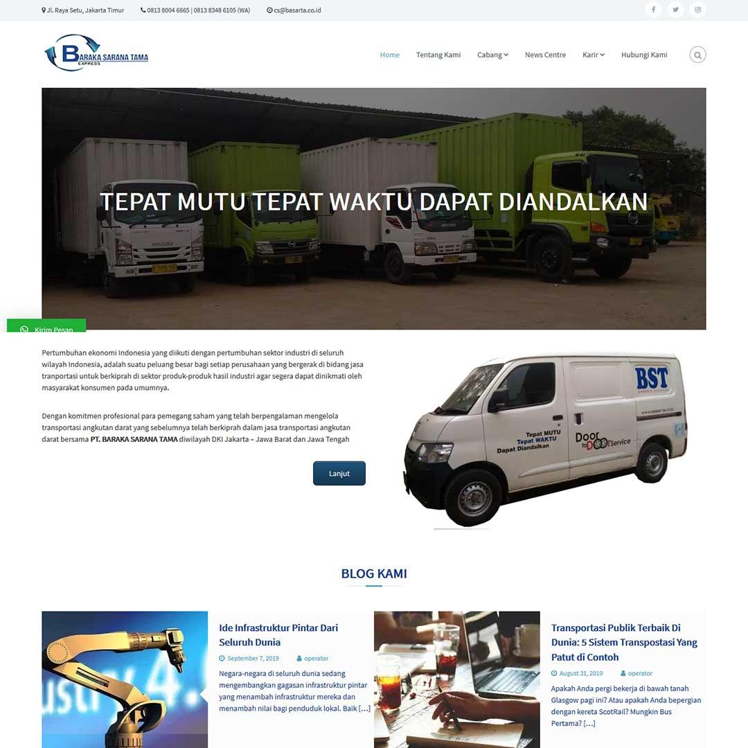Mizan Computer Website Portfolio