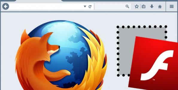Firefox Block Flash Content